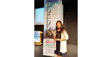 English Essay : Middle School Div..; 1st Place – Rachel Chae